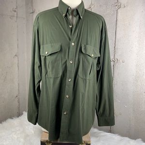 Browning Men's Button Down Buck Suede XLarge